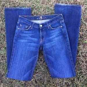 7 For All Mankind  27L Bootcut Jeans