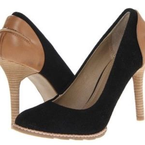 Kenneth Cole Hum Away Suede Pumps