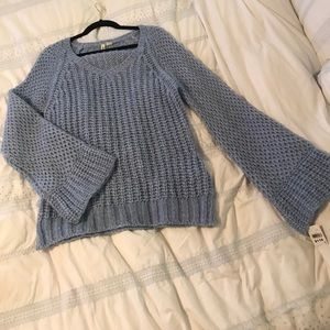 Light blue sweater from anthro