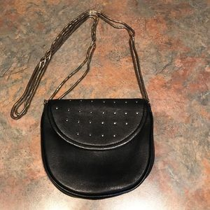 RebeccaMinkoff Black Crossbody Bag