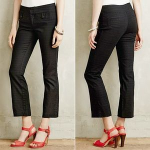 Anthropologie Crop Flare Charlie Trousers