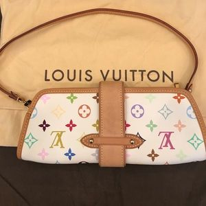 80d7c24a6fa4 Louis Vuitton Bags - Authentic Louis Vuitton Murakami Shirley Clutch