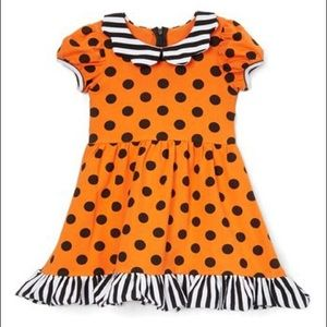 NEW Halloween Polka Dotted Baby Dress