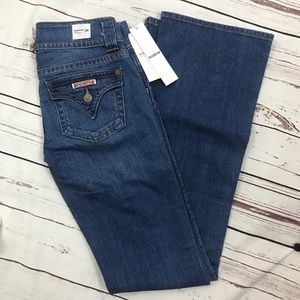 😻 NEW Hudson jeans signature bootcut 26