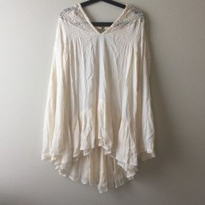 Free people 'one night' victorian tunic size Xs