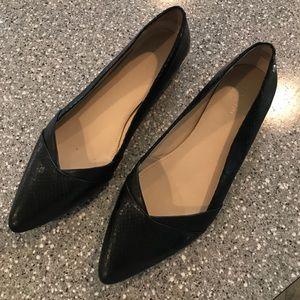 Calvin Klein Black Flats