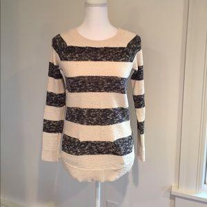 Lou & Grey Nautical Stripe Tunic Sweater