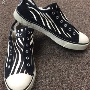 Zebra UGG Sneakers size 8.5