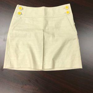 J Crew size 4 linen skirt