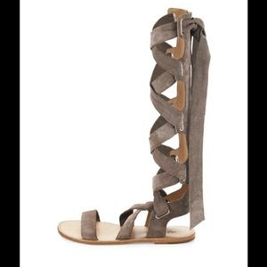 Rag and bone Ilaria leather gladiator sandals.