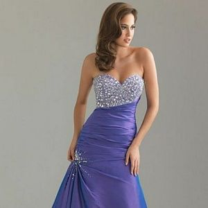 Night Moves Prom Gown