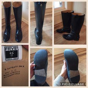 cdc9a976d26 Frye Shoes - Frye Women s Melissa Button Back Zip Wide Calf