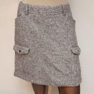 Tweed Woven Skirt by Eddie Bauer