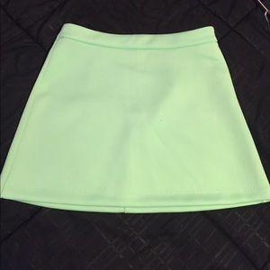 Forever 21 Mint Green mini skirt