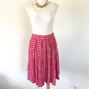 LuLaRoe Madison Skirt Pink sz Small
