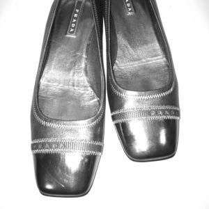 Prada square toe ballet Flats