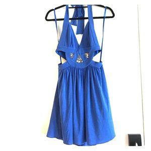 BCBGMAXAZRIA backless dress