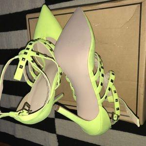 ASOS Neon Sandal