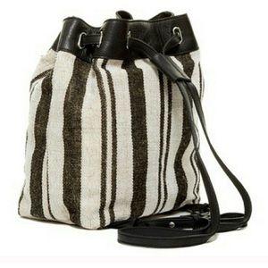 Kelsi Dagger Jute & Leather Backpack