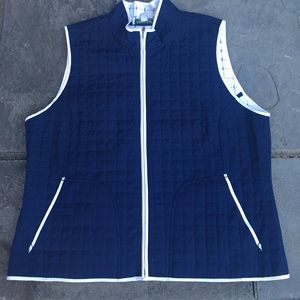 💙Coldwater Creek💙 lightweight quilted vest