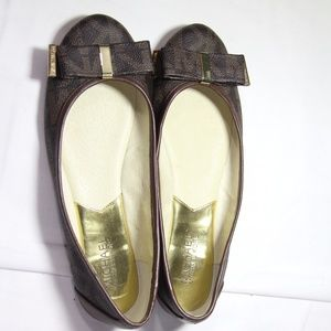 Michael Kors Ballet Flats with Bow