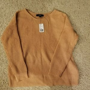 Reposhing Peachy Oversized Sweater