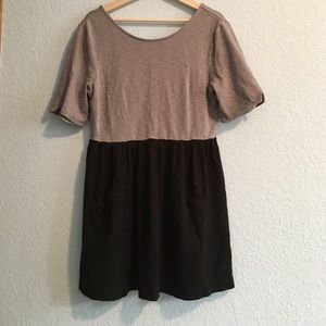Free people two tone dress