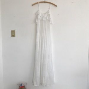 Zara flows dress in white / small