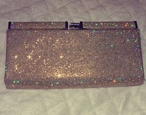 Gold Clutch Wallet