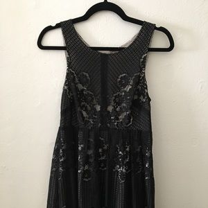 Perfect Lacey little black dress