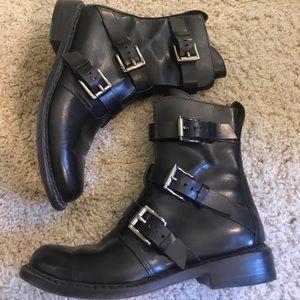 Rag & Bone Leather Combat Boot