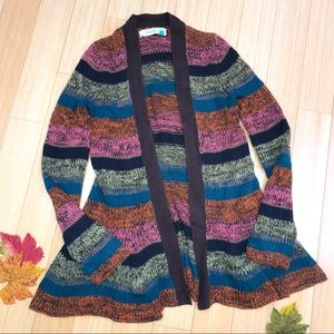 Anthropologie SPARROW colorful cardigan sweater, S