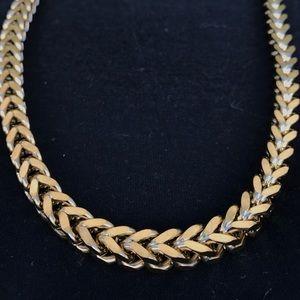 14k Gold Over Stainless 8mm Men's Franco Chain