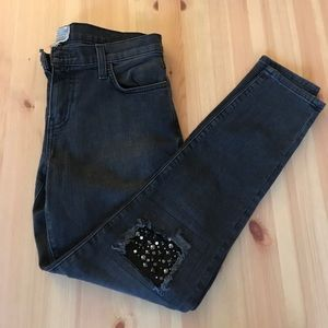 Current/Elliott Skinny Ankle Jeans Size 27