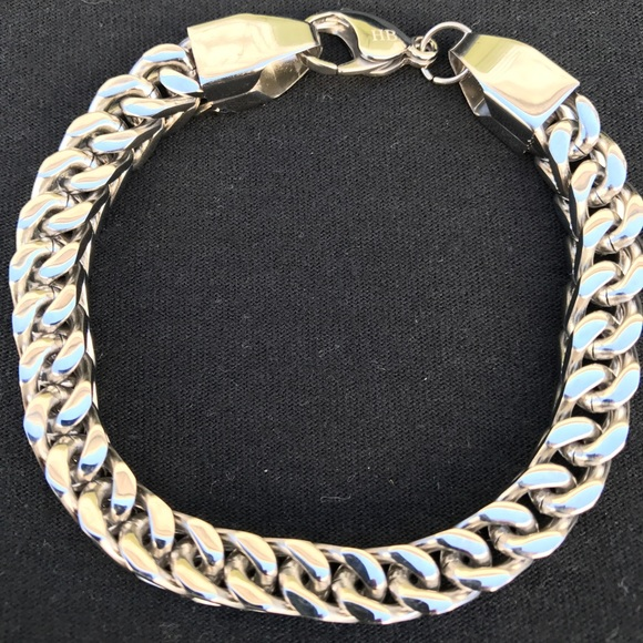 solid unisex s franco bracelet gg latest gold men deals goods groupon in