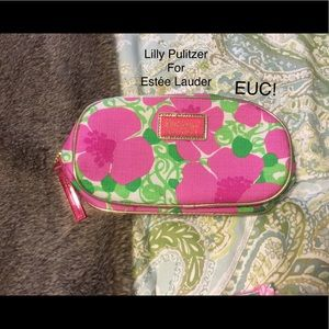 Lilly Pulitzer for Estée Lauder bag