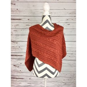 NWT ANN TAYLOR Sienna Cable Knit Poncho