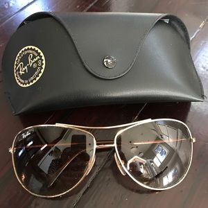 Ray-Ban Accessories - Ray Ban aviator sunglasses.
