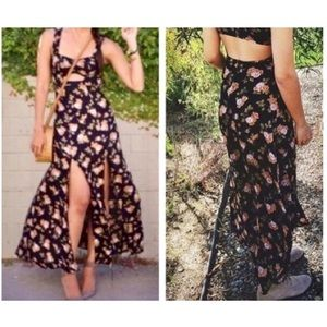 Brandy Melville Maxi/Slit Dress