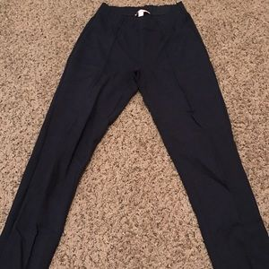 EUC Size S Lilly Pulitzer Navy Travel Pants