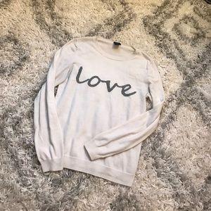Gap LOVE  Biege Sweater!