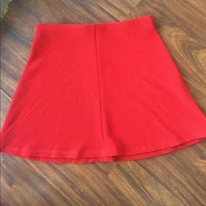 Dresses & Skirts - Red Zara skirt