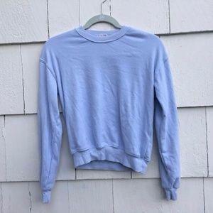 Brandy Melville John Galt Light Blue Sweatshirt