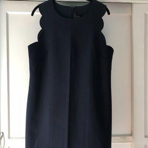 Jcrew Scallop Mini Dress