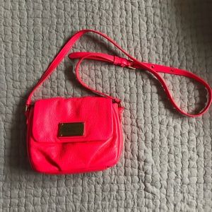 Marc by Marc jacobs NEON CORAL crossbody