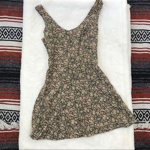 90s Floral Mini Dress
