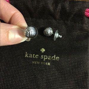 Kate spade sterling silver knot post earrings