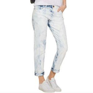 Current/Elliott Fling acid Tie-dye Mid-rise Jeans