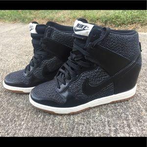 Nike Dunk Wedge Sneakers