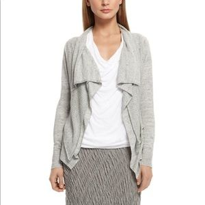 PureDKNY Linen Double Layer Cardigan